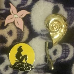 Disney Jewelry - Little mermaid collectors pins